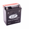 Landport YTX7L-BS 12V/6AH DIN50614 AGM Batterie 113x70x130mm